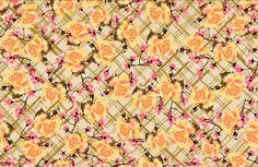 Check with flowers - Lunelli Textil | www.lunelli.com.br