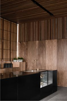 Spotted gum battens & panelling