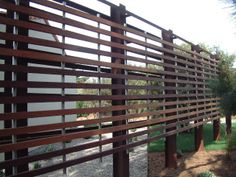 wood and metal trellis - Google Search