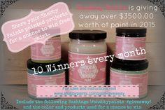 Shabby Paints is Giving! Free paint 2015 #shabbypaints #giveaway