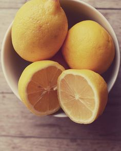 Lemon photograph yellow food photography kitchen by dullbluelight,