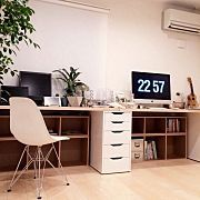 My Desk,IKEA,イームズ,Macのある部屋,Mac,ムートンに関連する他の写真