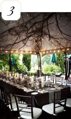 5 Amazing Outdoor Reception Ideas - WeddingWire: The Blog   WeddingWire: The Blog