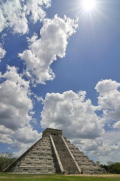 Chichen Itza. Mexico. Definitely a good thing they no longer allow people to climb the pyramid. I thought my fam and I were going to fall to our deaths!