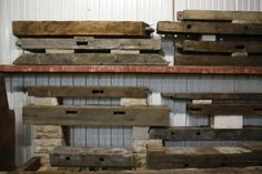 Salvaged barn wood a