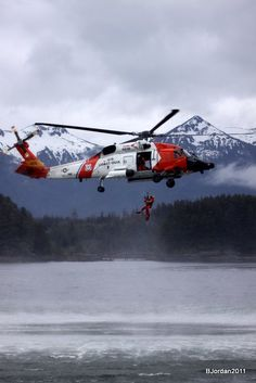 the coast guard is a vital and important part of alaska and our community the coast gaurdus coast guardcoast guard rescue swimmercoast