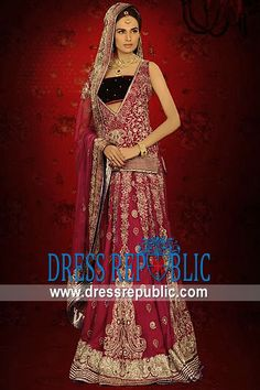 Tulip Cabrio, Product code: DR9728, by www.dressrepublic.com - Keywords: #Online Store for #Pakistani #Bridal Lehenga, Pakistani #Wedding #Lehenga Online Stores USA, Canada