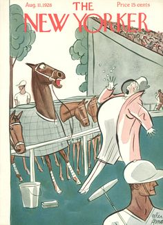The New Yorker - Saturday, August 11, 1928 - Issue # 182 - Vol. 4 - N° 25 - Cover by : Peter Arno