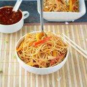 Veggie Szechuan Noodles