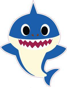 Shark Birthday Cakes, 1st Birthday Parties, Boy Birthday, 2 Baby, Baby Ruth, Baby Crib, Shark Family, Family Vector, Shark Party