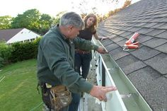 How to Repair a Leaky Gutter This Old House general contractor Tom Silva has a fast fix for a dripping rain gutter Drip Edge, Drip Drip, Toms, How To Install Gutters, Diy Home Repair, Roof Repair, Home Repairs, The Ranch, Home Improvement Projects