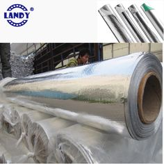 LANDY radiant barrier products meets CE, SGS and ATWA tests、Clean, Lightweight, Easy To Install、Extend the life of air conditioning unit、Increase the comfort level of a home or building、Pliable and tough flexible easy to be installed from any angle.