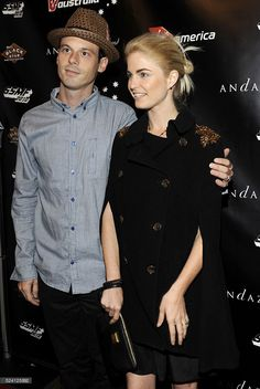 Scoot McNairy and Whitney Able attend the Virgin America Get Stripped Party part of the Sunset Strip Music Festival 2010 at the Anadaz Hotel in West  Hollywood, California. (photo by Tim Mosenfelder)