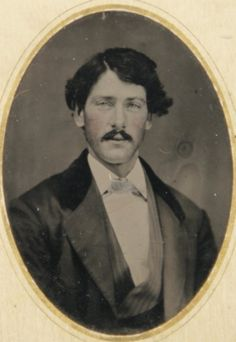 "597: TINTYPE OF LUTHER ""YELLOWSTONE"" KELLY W/ PORTFOLIO : Lot 597"