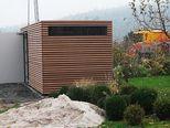 gartenhaus exclusive mit schiebet r sheds pinterest. Black Bedroom Furniture Sets. Home Design Ideas