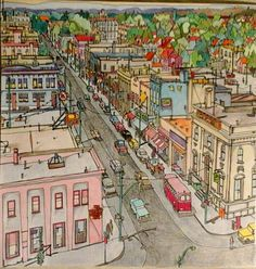 Fantastic Cities Adult Colouring Book From Instagram Cidades Fantasticas