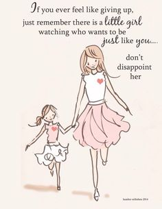 ❤️❤️ I'm my daughter's role model and time to show her how a life should be. Not sadness all happiness.