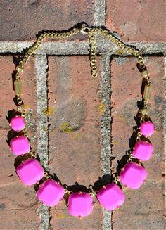 Square Bubble Necklace