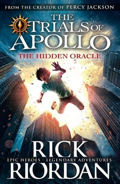 Rick Riordan's The Trials of Apollo cover release!! And excerpt from the first chapter!!!