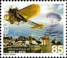 Celebrating Centenary of Aviation in Switzerland