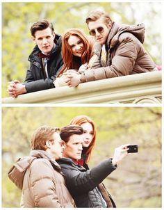 Karen and the Babes (Oh God, this is the episode 'The Angels Take Manhattan... so sad, we lost Amy and Rory. It's painfull)