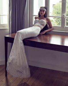 #gown #couturedesign #fashion #couturegowns #bridalstyle #couturefashion #fallwinter #fashiongram #couture #designer #wedding #designers #dress #bridal #couturegown #weddingdress #fallwinter2016 #bridalgowns #eliesaab #bridaldresses #fashionmagazine #bridalgown #bridaldress #gowns #couturedress #2016  Svadobné+šaty+ako+samotný+šperk