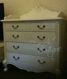 French Louis XV Baby Changing Chest $1500