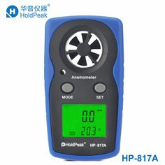 check discount holdpeak hp 817a anemometro digital anemometer wind speed measurement wind device #handheld #anemometer