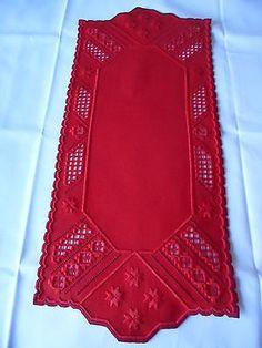 Beautiful-Red-Hardanger-Christmas-Table-Runner