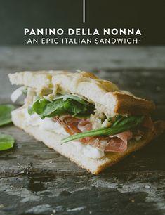PANINO DELLA NONNA // The Kitchy Kitchen