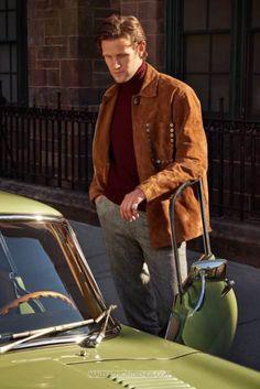 Matt Smith por Christophe Meimoon para Mr.Porter