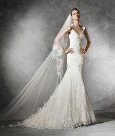 f64d260a2305 Laren, lace mermaid wedding dress Formella Klänningar, Bröllop Brud,  Brudklänningar Sjöjungfru, Drömklänning