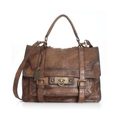 frye leather bag