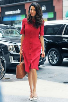 Amal Clooney Best dressed celebrities this week: 28 September | Harper's Bazaar
