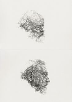 Dryden Goodwin - the simplicity of these drawings is effective and amazing, proves less is more