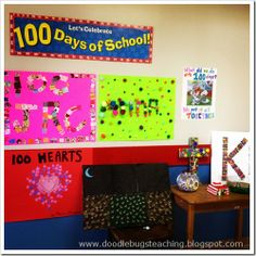 Have kids make 100 things posters to share on 100 day