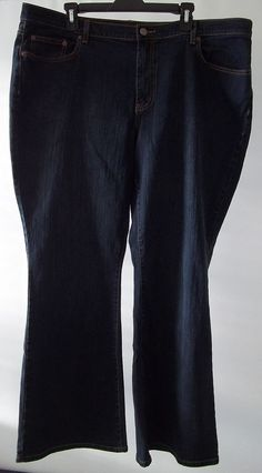 Venezia Blue Jeans Pants Lane Bryant Womens Size 22 Avg  #Venezia #BootCut