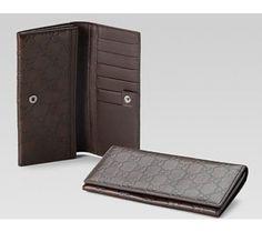gucci long wallet for men