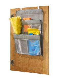 Jokari Cabinet Door 5-Pocket Cleaning Supplies Organizer JOKARI,http://www.amazon.com/dp/B006H01HQI/ref=cm_sw_r_pi_dp_sKz7sb0V5FPXZ5R1