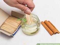 How to Make Cinnamon Toothpicks. Cinnamon has a long history of varied use, dating back to the ancient world. Cultures in various eras have known of cinnamon's usefulness as a health aid, spice, and flavoring. Cinnamon toothpicks are. Cinnamon Toothpicks, Flavored Toothpicks, Cinnamon Candy, Cinnamon Extract, Cinnamon Oil, Cinnamon Sticks, Quit Smoking Tips, Clean Eating Snacks, Food Photography
