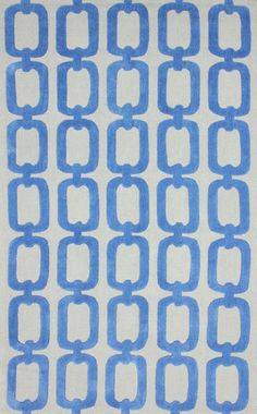 nuLOOM Lt Blue ilili | Contemporary, Outdoor Rugs