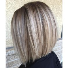 60 Fun and Flattering Medium Hairstyles for Women Blunt Blonde Balayage Bob Blonde Balayage Bob, Brown Blonde Hair, Bronde Bob, Ash Blonde Bob, Blonde Honey, Medium Blonde Bob, Blond Hair With Lowlights, Honey Balayage, Blonde Bob Cuts