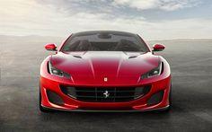 Hämta bilder Ferrari Portofino, 4k, 2017 bilar, italienska bilar, supercars, Ferrari
