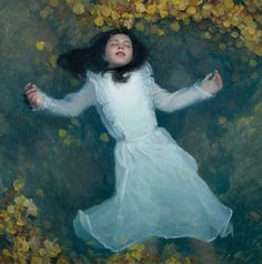 Adrift by Jeremy Lipking (Oil on Linen / 40 x 40 inches) What an exquisite piece! The artist is the winner of 1013/2014 ARC Salon.