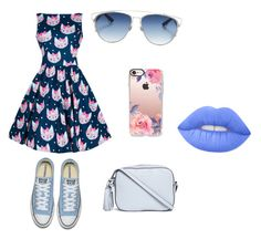 """""""Untitled #201"""" by irmajagodic82 ❤ liked on Polyvore featuring Tory Burch, Casetify, Christian Dior and Lime Crime"""
