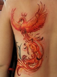 Phoenix Tattoo pretty design More