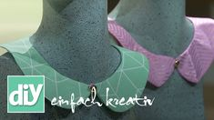 Kragen-Kette | DIY einfach kreativ - YouTube Ard Buffet, Crochet Necklace, Chokers, Sewing, Youtube, Fashion, Crochet Free Patterns, Chain, Simple