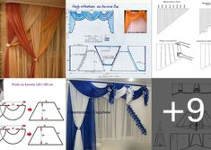 APRENDE HACER CORTINAS Y CENEFAS Map, Make Shorts, Fitted Sheets, Border Tiles, Fabric Purses, Location Map, Maps