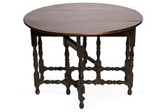 Vintage Dropleaf Round Table on OneKingsLane.com -> $1,800.00 - $1,199.00