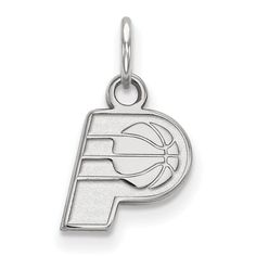 official photos 6d6d1 998b0 Sterling Silver NBA LogoArt Indiana Pacers XS Pendant